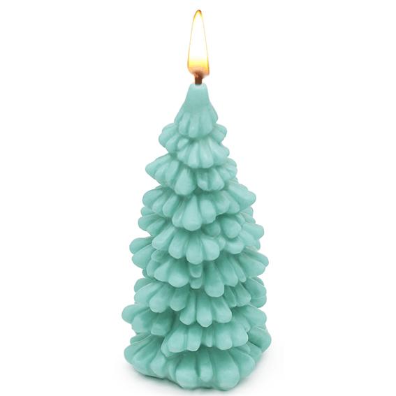 Molde de Silicona para Velas, Arbol de Papá Noel