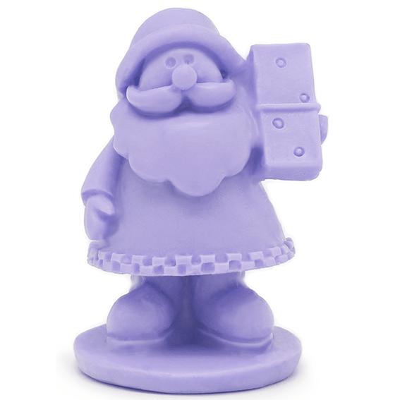 Molde Silicona 3D Papá Noel con Dominó