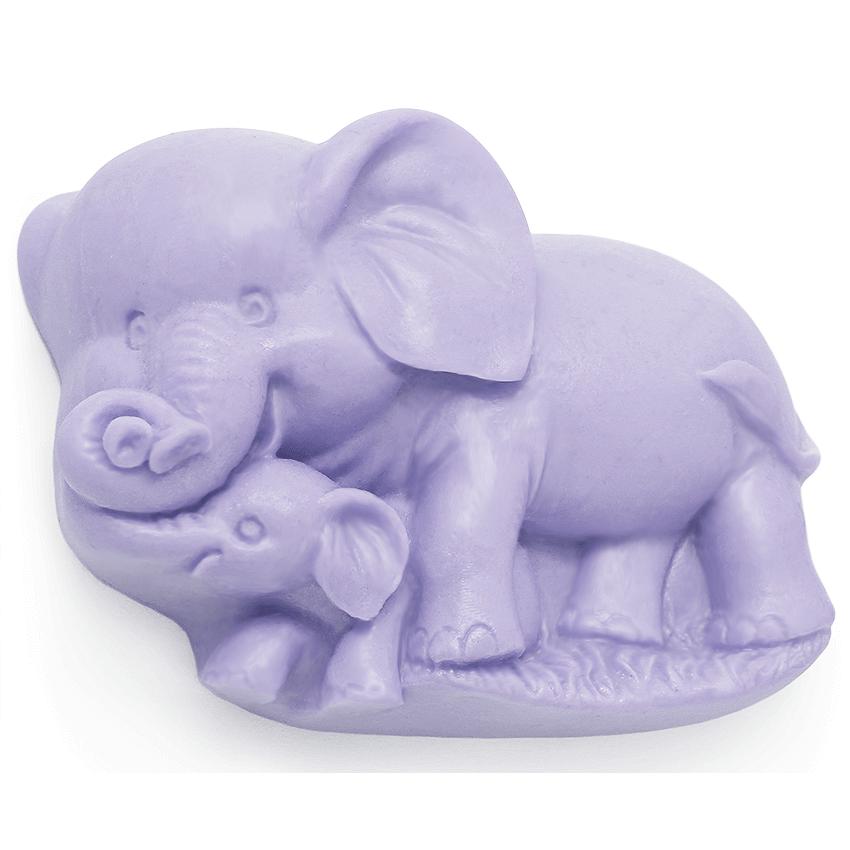 """Molde de silicone """"elefantinhos"""""""
