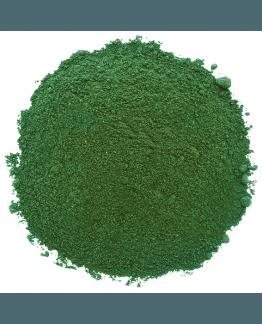 Espirulina alga em pó
