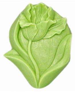 Molde con tulipan para hacer jabones