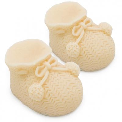 Molde botas de bebe