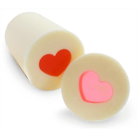 Kit para fazer sabão em barra com inclusão de coração