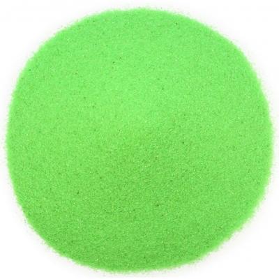 Arenilla para manualidades verde neon