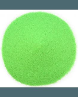 Areia de cor verde neon