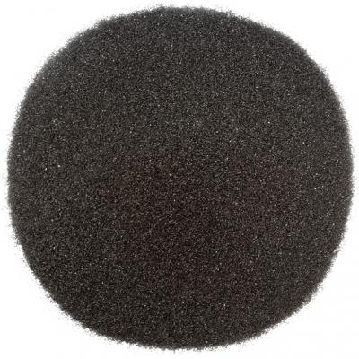 Areia de cor preta