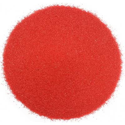Arena fina roja