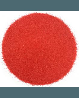 Areia de cor vermelha