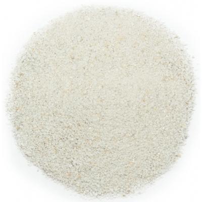 Areia branca grão grosso