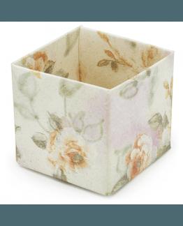 Caixinha de presente com estampa floral