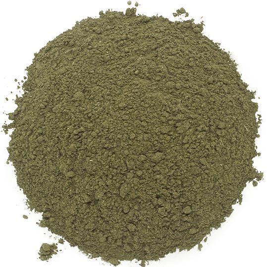 Ortiga verde en polvo