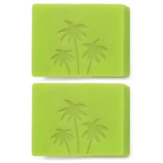 Molde doble palmeras