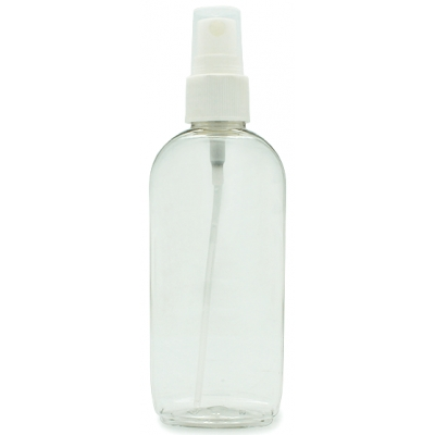Garrafa pet 75 ml oval com pulverizador