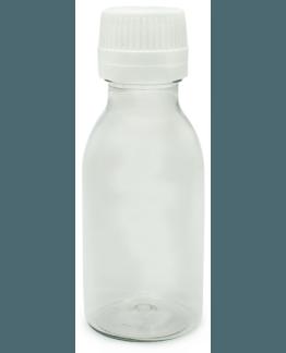 Botella pet 100 ml tapon obturador gotero precinto