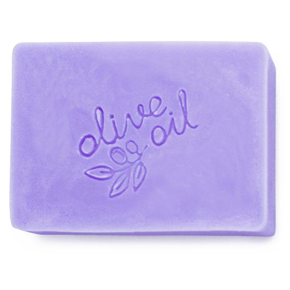 Carimbo para sabonetes Pure Olive oil Soap