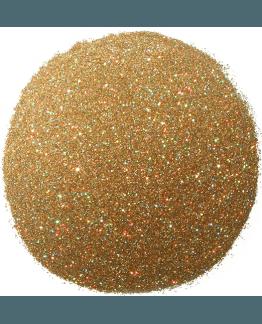 Purpurina dorada holografica