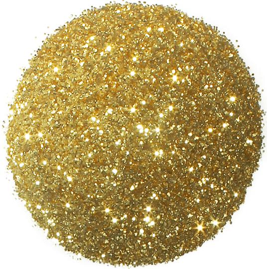 Purpurina cor dourada