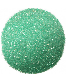 Purpurina Verde água claro rainbow