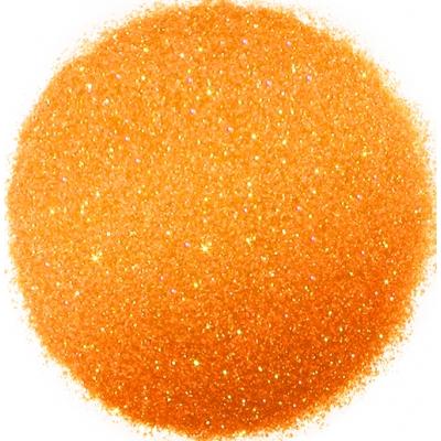 Purpurina naranja fluorescente