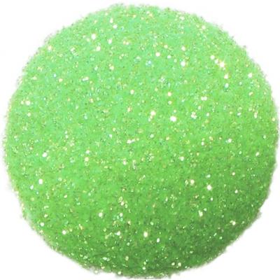 Purpurina verde fluorescente