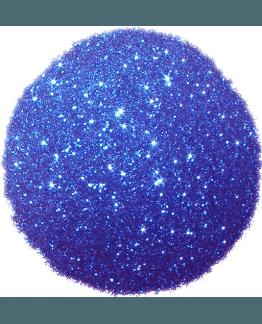 Purpurina cor azul forte