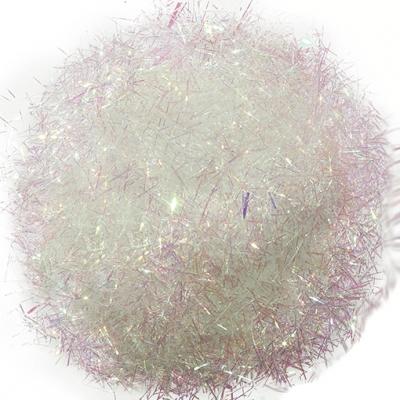 Purpurina fibra iris tornassolada cosmetica