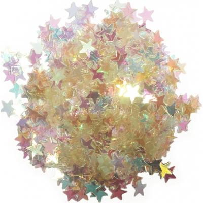 Estrellitas cristal iridiscentes