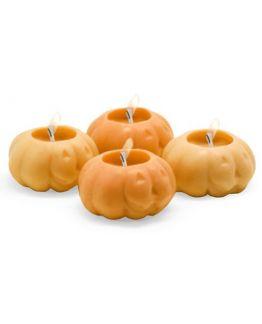 """Molde para fazer velas ,4 Abobrinhas halloween flutuantes"""""""
