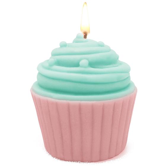 Molde Velas Cupcake decorado