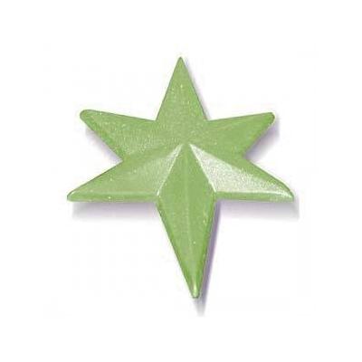 Molde navidad estrella de los reyes magos