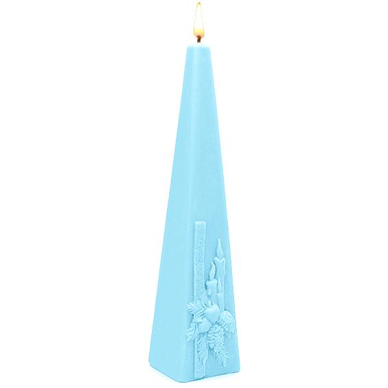 Molde piramidal cirio navideño