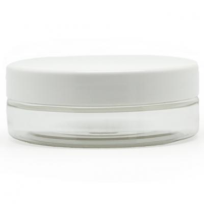 Recipiente Transparente  50 ml tampa branca