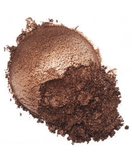 Mica cor chocolate