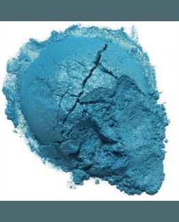 Mica Azul Reflejo Dorado