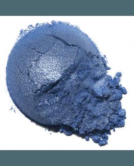 Mica em pó azul cobalto
