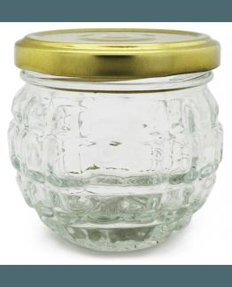 Pote de vidro para cosmética 100 ml