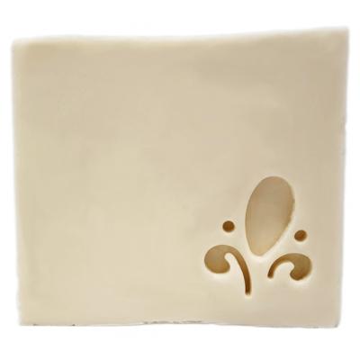 Mini Carimbo para sabonetes Flor de Lis
