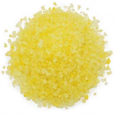 Tinte amarillo limon sales y bombas de baño