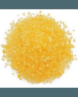 Tinte amarillo huevo sales y bombas de baño