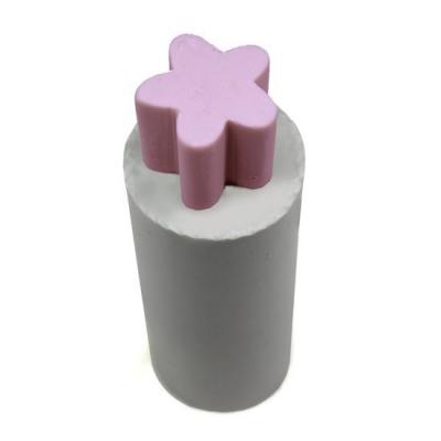 Molde tubular de silicone, Flor