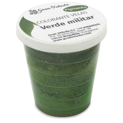 Corante para velas pigmento verde militar