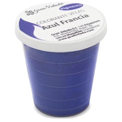 Corante velas pigmento azul frança