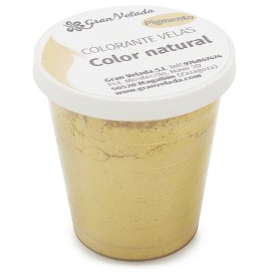 Corante para velas pigmento cor natural