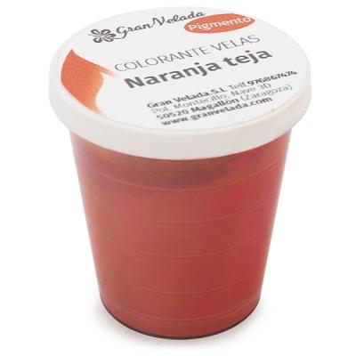 Colorante velas naranja teja pigmento