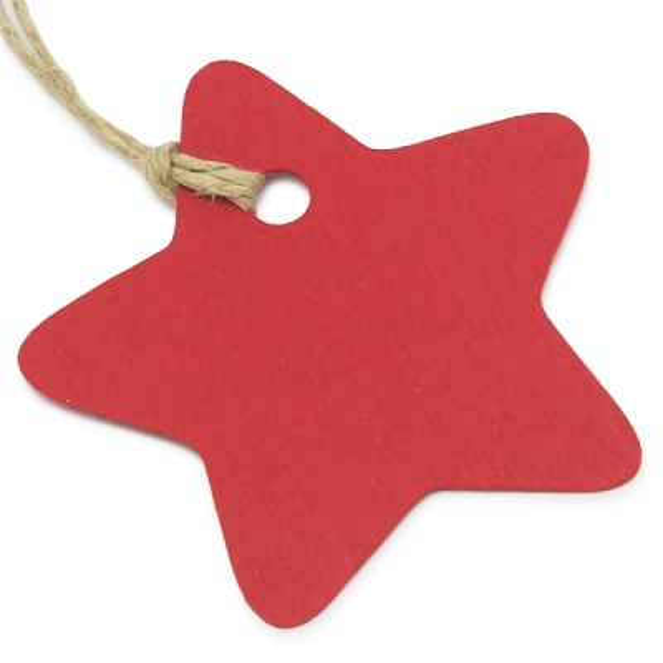 Etiquetas de carton estrella
