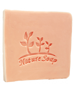 Carimbo para sabonetes, Nature Soap.