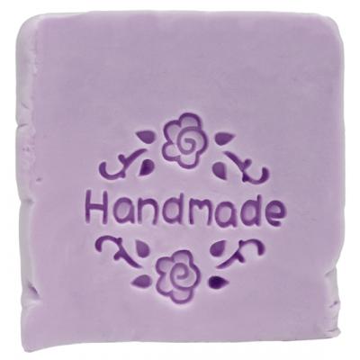 Sello para jabones handmade con rosas