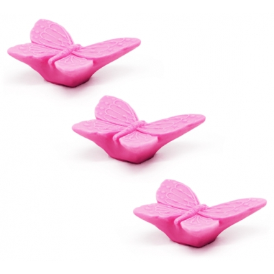 Molde para sabonetes, Borboletas 3D