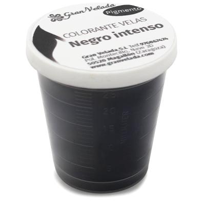 Colorante velas negro intenso pigmento
