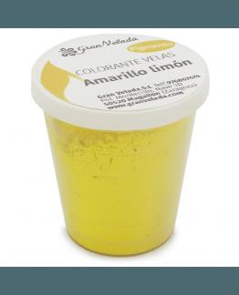Corante para velas, pigmento amarelo limão